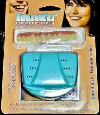 Cosmetic Teeth Upper Imako Small Natural False Snap On Instant Smile Dental New