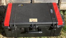 PELI 1650 Heavy Duty Storage Case with wheels and retractable handle.