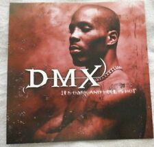 DMX PROMO POSTER: IT'S DARK AND HELL IS HOT; NEW!