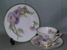 Royal Doulton Glamis Thistle Trio Tea Cup Saucer & Side Plate