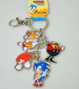 Juego de 2 llaveros y 2 cordones SUPFANS Sonic The Hedgehog