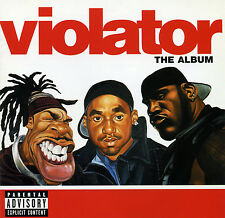 Violator THE ALBUM (Retail Promo CD, Album) Uncensored (1999)