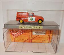 OLD NOREV RENAULT 4 FOURGONNETTE R4 F4 1965 MOTOCULTURE ETS MOREUX BORDEAUX 1/43