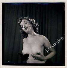 Nude model at Studio/photoshoppare modello nudo * 60s Seufert contact Print #10