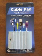 Cable Pad Caddy Desktop Computer Cable Organizer Monosystems Inc - PAD1
