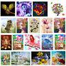 5D DIY Diamond Painting Flower Embroidery Craft Cross Stitch Kit Home Decor Art