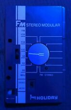 Vintage Toshiba RP-S2 FM Stereo Tuner Pack Only Blue For KT-S2 Cassette Player