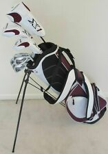 NEW Womens Petite Golf Club Set Driver Wood Hybrid Irons Putter Stand Bag Ladies