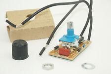 Interruptor Regulador Rango Completo Lámpara Luz Giratoria 120V-300W Max