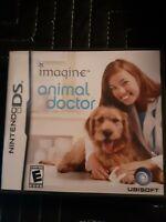 Imagine: Animal Doctor (Nintendo DS, 2007) Complete CIB W/ Manual