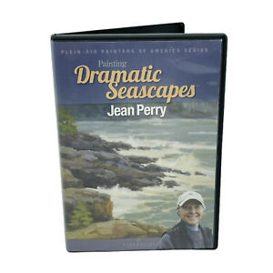 Jean Perry Painting Dramatic Seascape Art Instruction DVD Plein-Air Paint Series