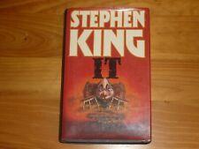 IT STEPHEN KING HARDBACK BOOK THIRD IMPRESSION OCTOBER 1986