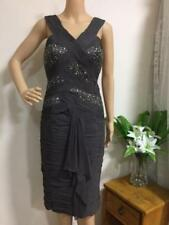 Knee Length Dry-clean Only Dresses for Women with Sequins