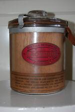 Vintage Glass Cigar Humidor TROVADOR Jamaica