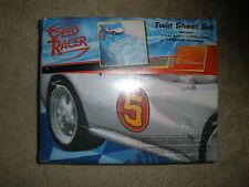 New~WB Speed Racer Mark 5 Sports Car Twin Sheet Set Pillowcase Halloween Gift