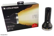 LED lenser 500847 Boîte LED Batterie Lampe de poche MT18 luminosité 3000 Lumen