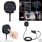 Bluetooth 4.0 Wireless Music Receiver 3.5mm Adapter Handsfree Car AUX Speaker