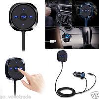 Bluetooth 4.0 Wireless Music Receiver 3.5mm Adapter Handsfree Car AUX SpeakerAU