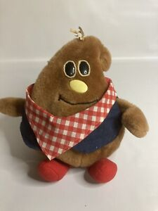 "Nestle Milky Brown Beanbag Vintage 84' 9"" Plush"