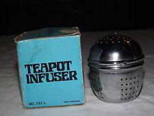 VINTAGE KITCHEN TEA  1970-80S TEAPOT INFUSER in BOX