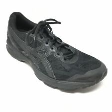 Men's Asics GT-1000 v5 Running Shoes Sneakers Size 11M Black Gray Athletic AG5