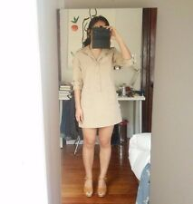 APC Military inspired dress 36 XS S french gamine A.P.C.