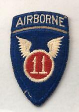11th Airborne Vintage Patch