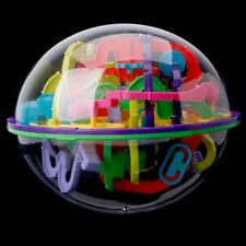 3D Labyrinth 299 Barriers Magic Intellect Ball Balance Maze Perplexus Puzzle Toy