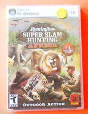 Remington Super Slam Hunting: Africa - NEW Sealed CD Rom *** FREE Shipping ***