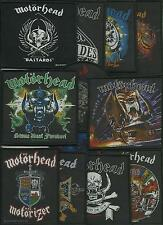 MOTORHEAD bunch of 12 top sellers WOVEN SEW ON PATCHES official LEMMY no.3/4
