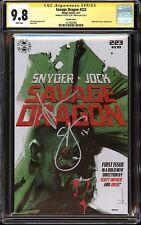 Savage Dragon #223 April Fool's Day Variant CGC SS 9.8 Signed Scott Snyder, Jock