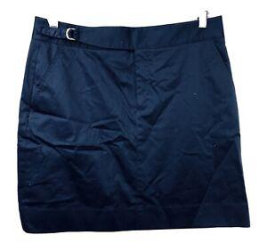 Ralph Lauren Golf Classic Golf Fit Skort Size 8 Womens Navy Blue Skirt Look