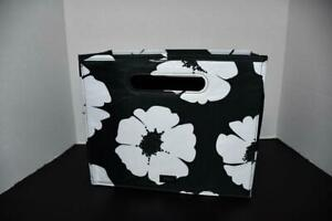 Thirty One Fold N File in White Poppy NEW With Tags