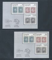 Canada Capex #756a DF & #756ai LF Souvenir Sheet Mint Never Hinged Free Shipping