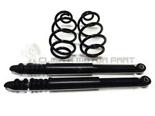 REAR 2 SHOCK ABSORBERS SHOCKERS & 2 COIL SPRINGS FOR NISSAN NOTE 2006-2012