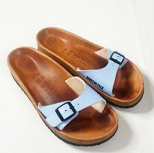 Birkenstock Women's Arizona Slide  39 Strap Sandals Blue 8 US