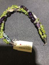 Macys Sterling Silver Bracelet 21.3 Grams