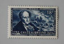 France année 1948 YT 816 Neuf luxe ** Vicomte de Chateaubriand