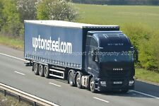 Truck Photo 12x8 - Iveco Stralis - Upton Steel - UP10 TON