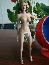 DIY 1:6th Scarlett Johansson Black Widow Big Bust Body Action Figure Collection