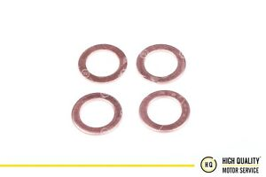 Copper Sealing Ring, Injector Washer For Perkins 131426200, Set of 4