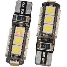 2 x Lampadine Luce T10 3W 13 LED 5050 SMD Canbus Error Free DC 12V 6000-6500K