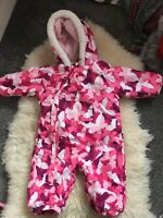 GIRLS TRESPASS TECHNICAL SNOW SUIT AGE 6-12 MONTHS EXCELLENT CONDITION