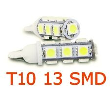 Falcon T10-13X - 2 x BOMBILLA T10 W5W 6000K 13 SMD LED LAMPARA POSICION