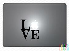 """Love Liebe für Apple Macbook 13"""" 15"""" Pro Air Sticker Aufkleber Skin"""