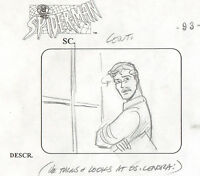 Spider Man Animated Series Marvel 1997 production animation storyboard
