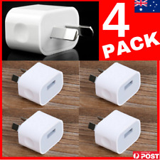 4 PACK 5V 2A AU PLUG USB WALL CHARGER POWER AUSTRALIA IPHONE 4PCS 240V