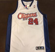 Rare Vintage Reebok NBA Los Angeles Clippers Andre Miller Basketball Jersey