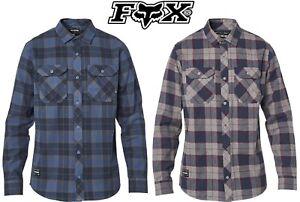 Original Fox Racing Traildust 2.0 Flannel Shirt Size M-L