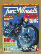 Two Wheels Magazine September 1996 Motorcycle Honda CBR1100 Suzuki Bandit 1200